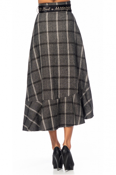 Ladies wool skirt