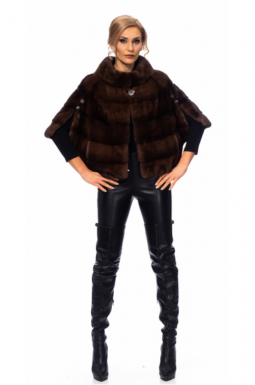 Ladies mink fur coat