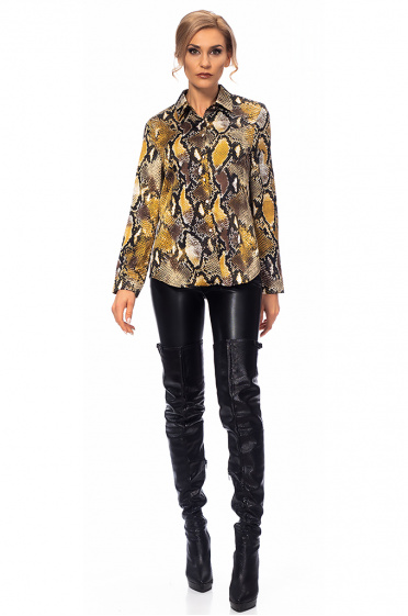 Ladies shirt with print