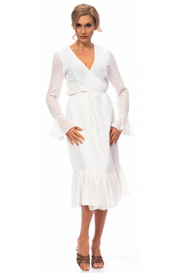 Ladies wrap dress