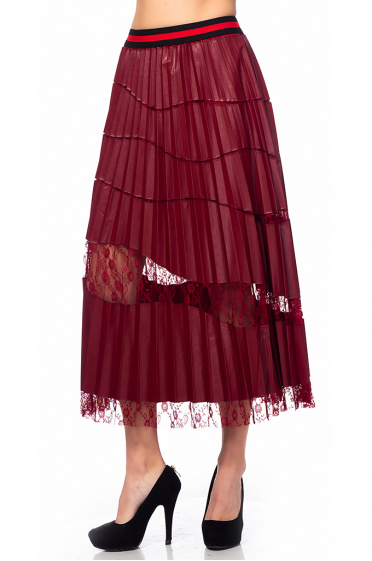 Ladies pleated skirt
