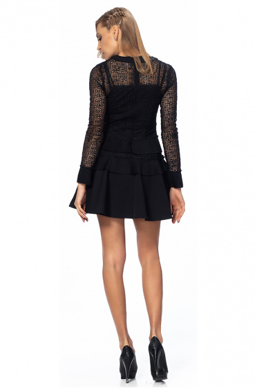 Ladies dress with lace