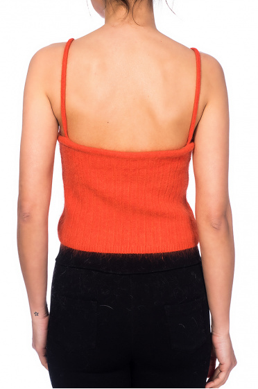 Ladies top with straps