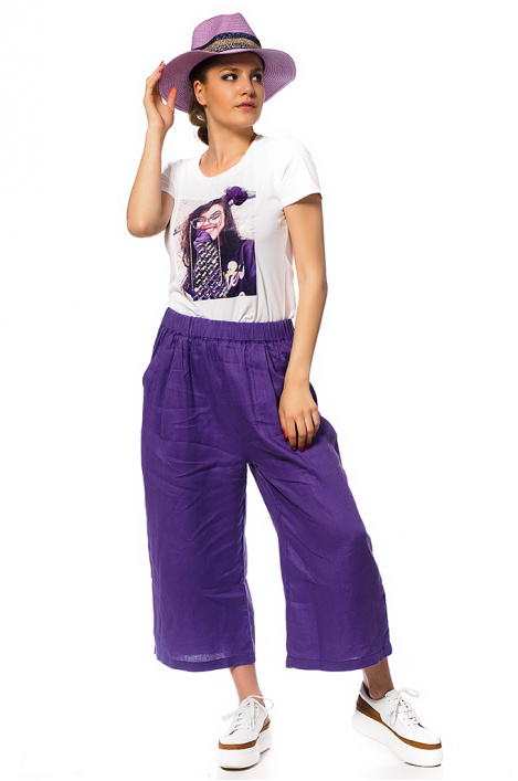 Women linen trousers
