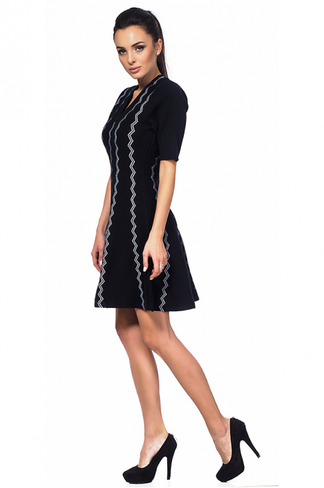 Women's zigzag dress